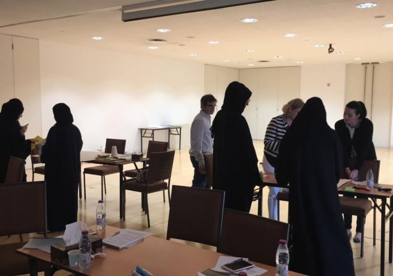 Exhibit Development Training, UCL Qatar